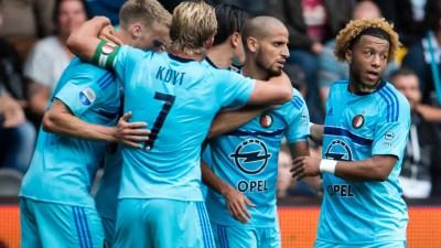Koploper Feyenoord blijft zonder puntenverlies door winst bij Heracles | NU - Het laatste nieuws ...