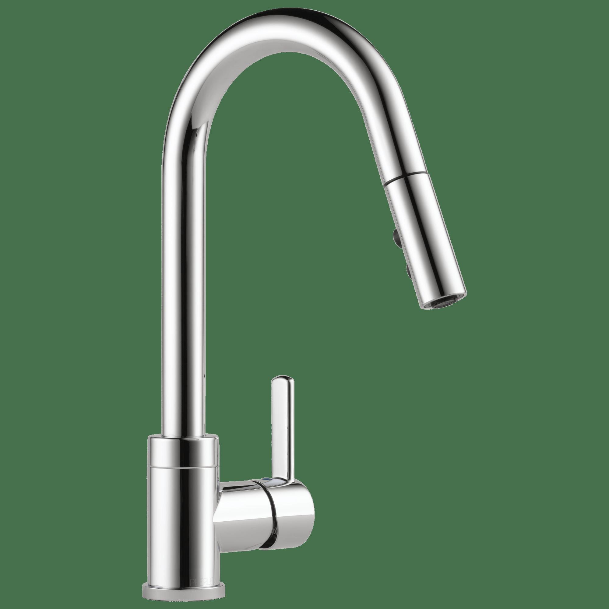 peerlessfaucet delta linden kitchen faucet Single Handle Pull Down Kitchen Faucet