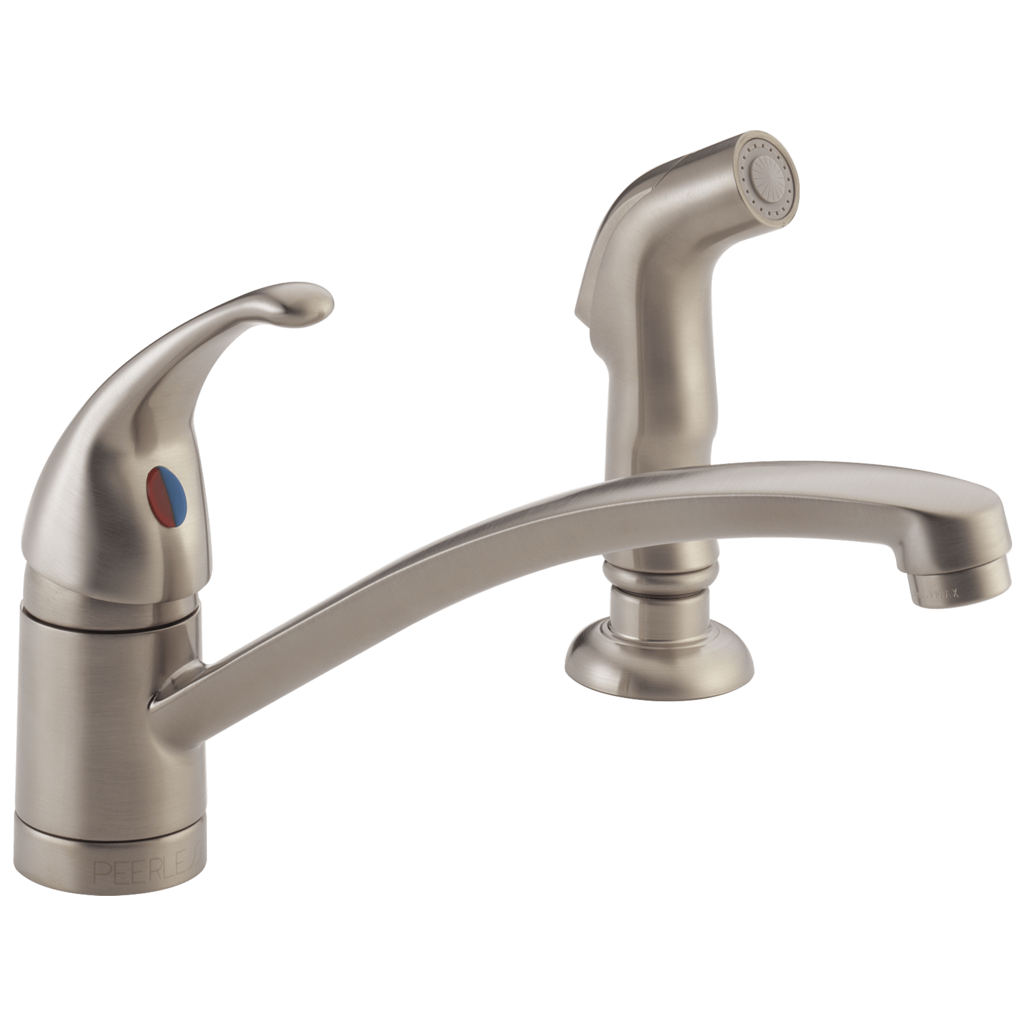 PLF SS single handle kitchen faucet Single Handle Kitchen Faucet with Matching Side Spray