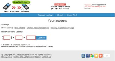Free cell phone number lookup without paying