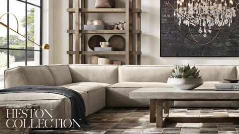 RH Homepage Introducing the Heston Collection
