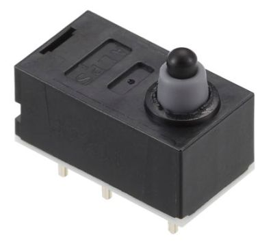 SPVQ910201 | Alps Detector Switch, DPDT, 50 mA | Alps