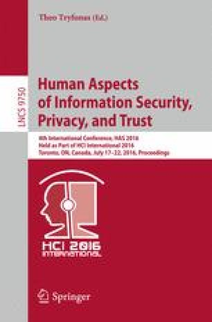 Assessing the Feasibility of Adaptive Security Models for the     Human Aspects of Information Security  Privacy  and Trust