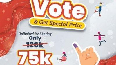 Promo Pemilu 2019 Buat Kamu Liburan Setelah Nyoblos
