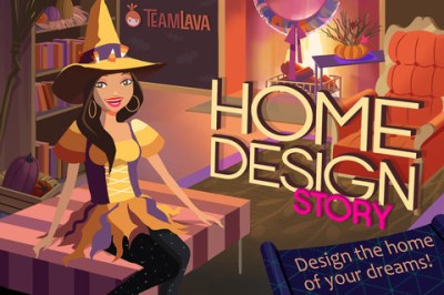 Storm8, Now Introducing Home Design Story: Halloween!
