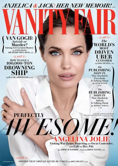 Cover Exclusive: Angelina Jolie on Being Married to Brad ...