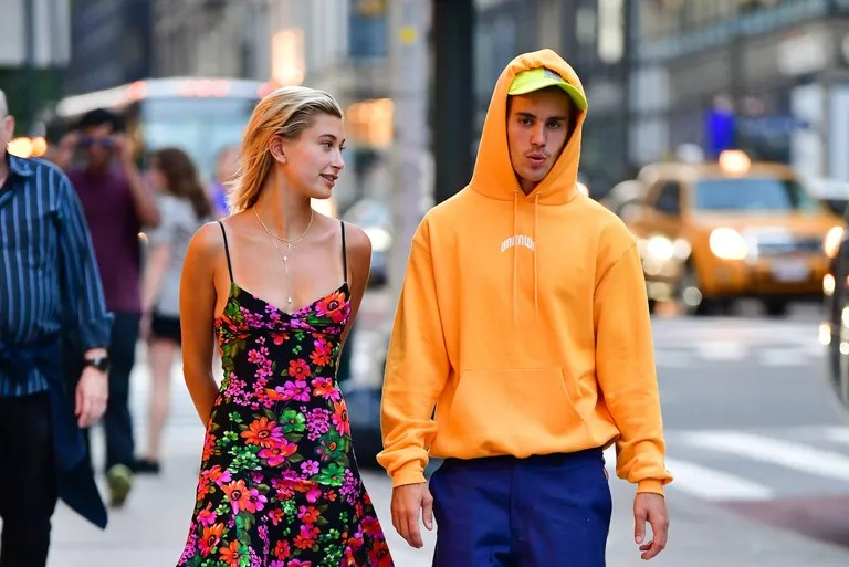Why Are There So Many Paparazzi Photos of Justin Bieber and Hailey     Celebrity Sightings in New York City   August 6  2018  Hailey Baldwin and  Justin Bieber