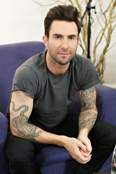 Adam Levine   The Ultimate Celebrity Tattoo Gallery   POPSUGAR Celebrity