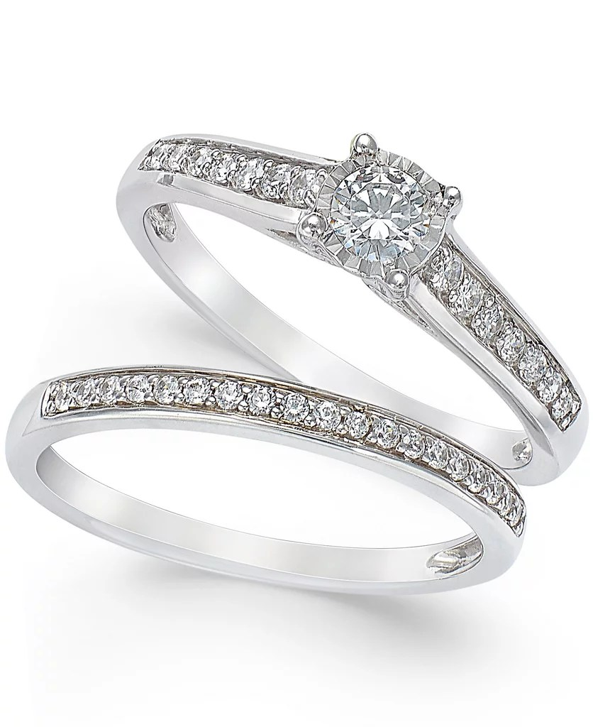 Affordable Engagement Rings affordable wedding rings If You Want to Get the Whole Set