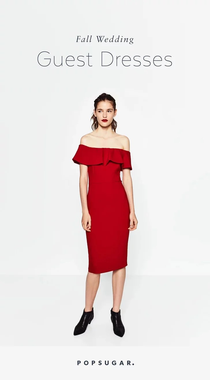 Best Wedding Guest Dresses Fall Winter Weddings cute wedding guest dresses Your Wedding Guest Dilemmas Solved in 27 Dresses