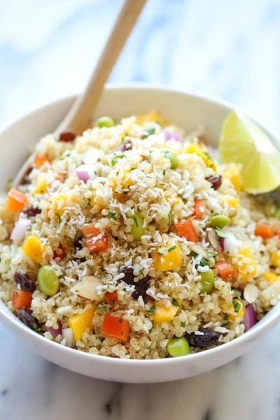 Whole Foods Copycat California Quinoa Salad | Quinoa Salad Recipes | POPSUGAR Food Photo 13
