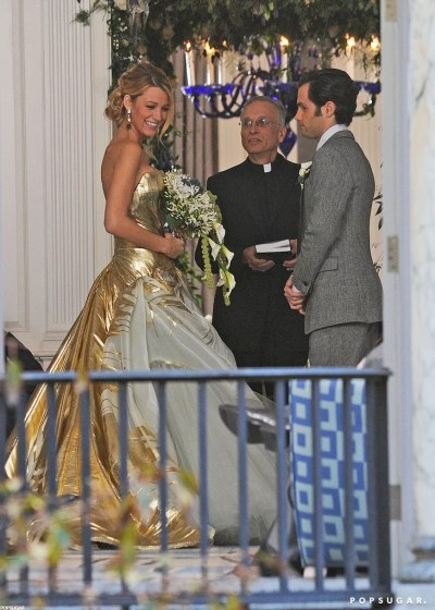 Blake Lively's Wedding Dress on Gossip Girl   Pictures ...