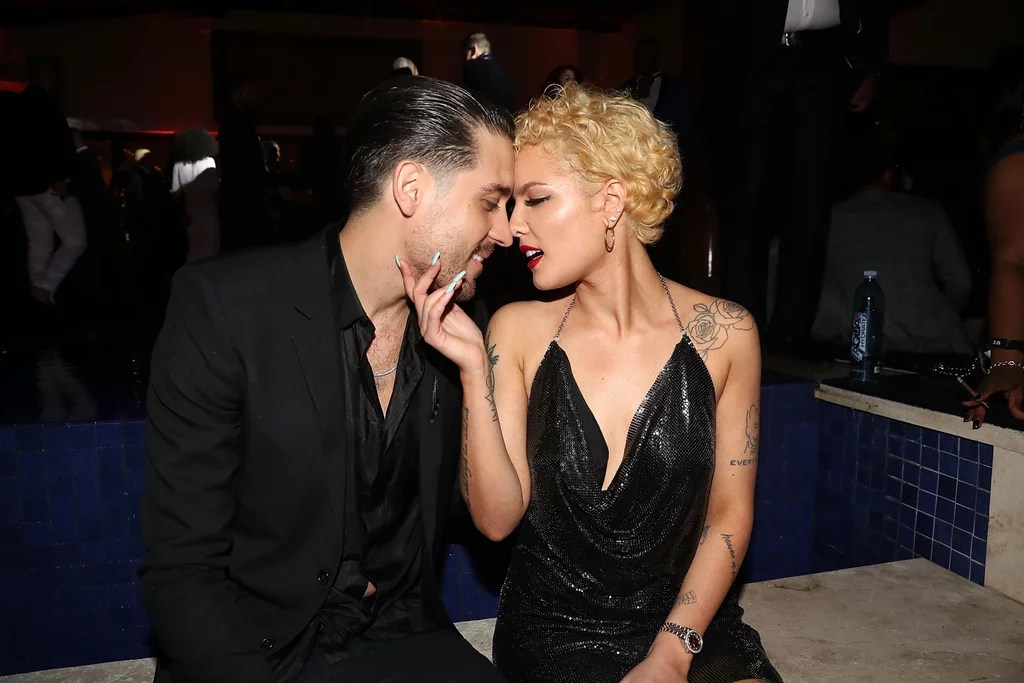 Are Halsey and G Eazy Dating    POPSUGAR Celebrity Halsey and G Eazy recently teamed up for their latest single   Him and