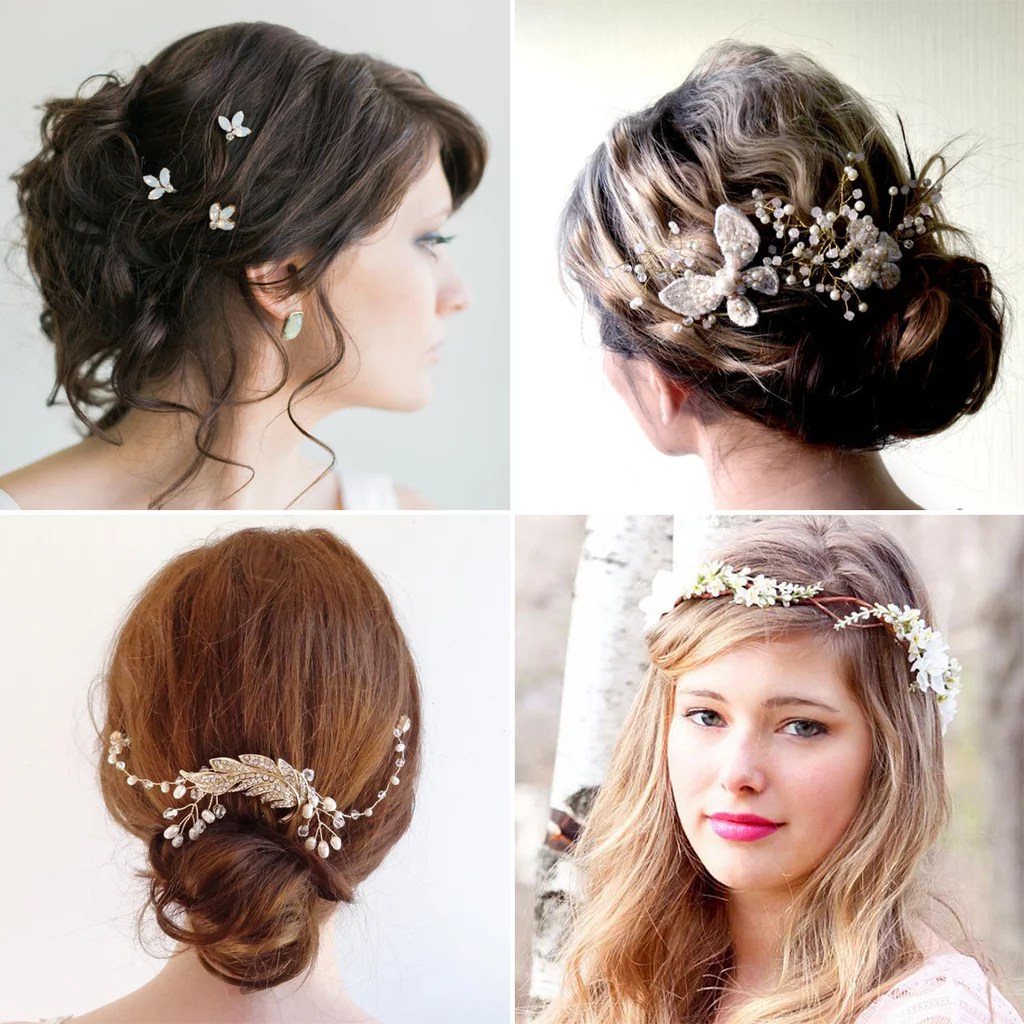 wedding hair pieces hair pieces for wedding Affordable Bridal Hair Accessories Etsy POPSUGAR Beauty Australia