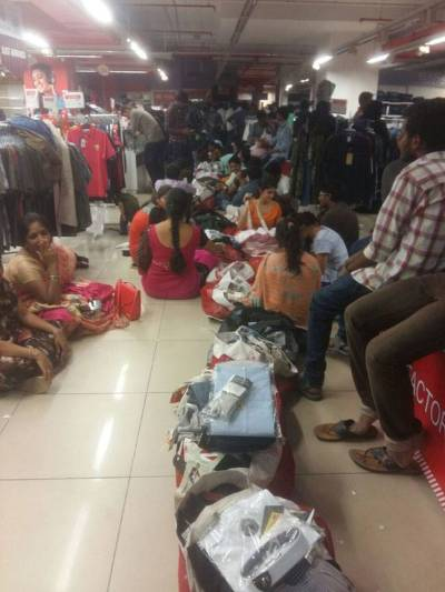 Hyderabad: People queued up in hundreds, but this time not ...