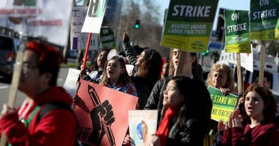 Oakland teachers go on strike, demand pay raises