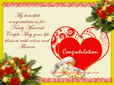 Wedding Wishes And Messages - 365greetings.com