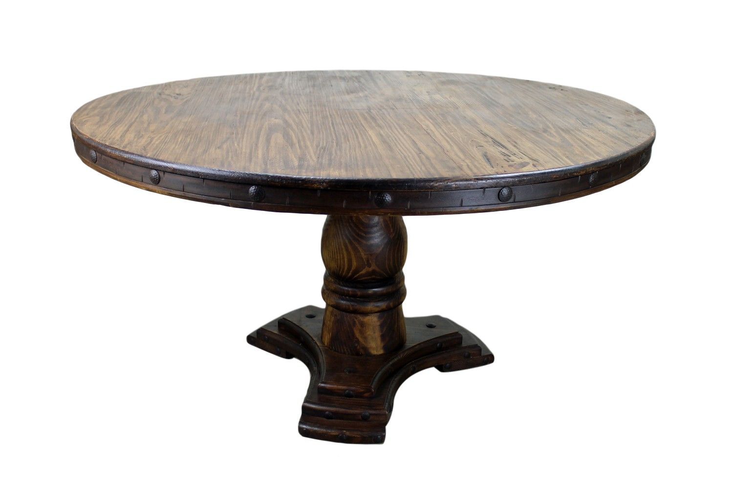 unfinished round dining table wood kitchen tables Drake Solid Oak Dining Room Furniture Round Circular Dining Table