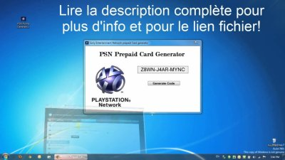 Code PSN Gratuit 2013 Francais - Code PSN Gratuit 2013 Francais