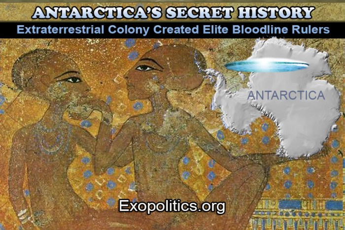 Antarctica's Secret History – Extraterrestrial Colony Created Elite Bloodline Rulers
