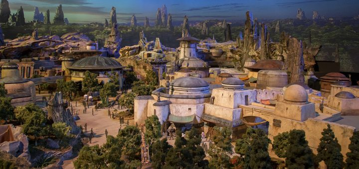 Star Wars Land Themed Model revealed at D23