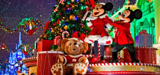 Christmas holidays at Walt Disney World