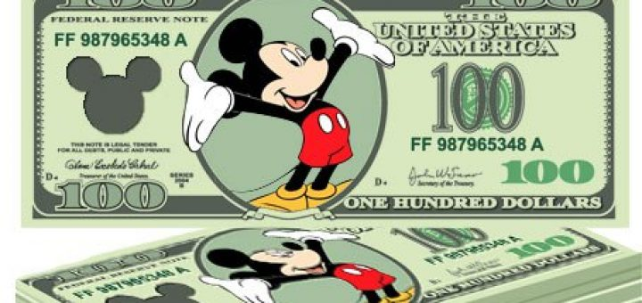 Image result for disney money