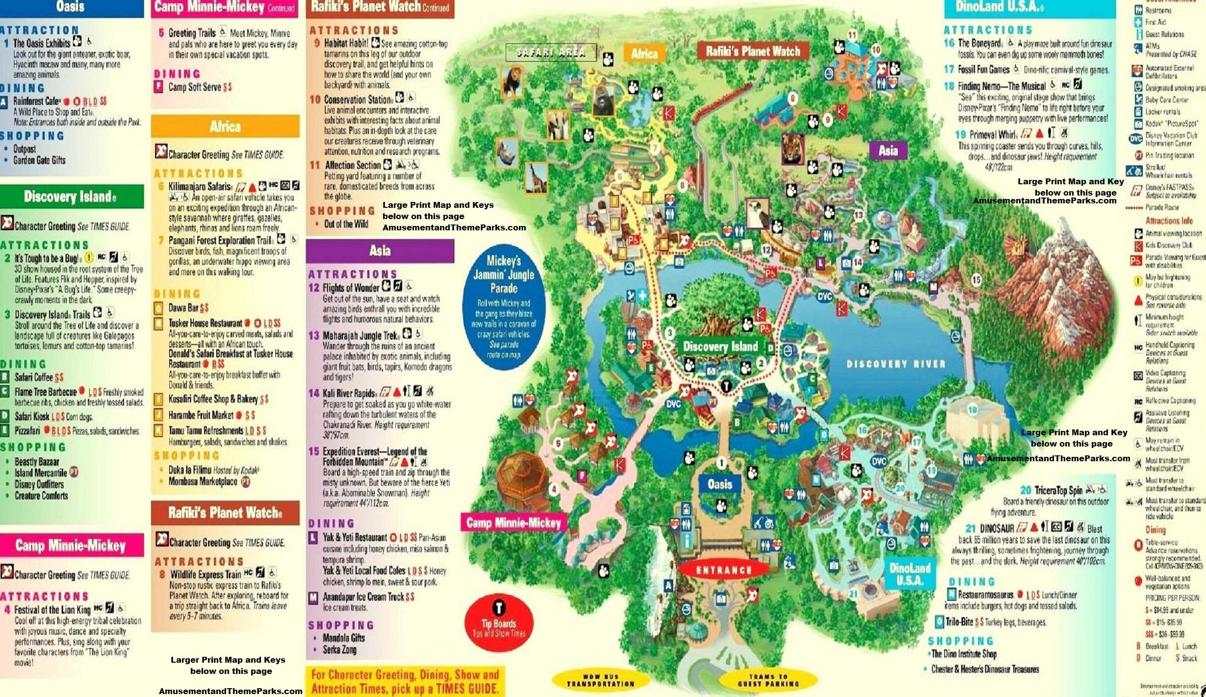 5 Useful Things You Can Learn from Disney Park Maps - MickeyBlog.com
