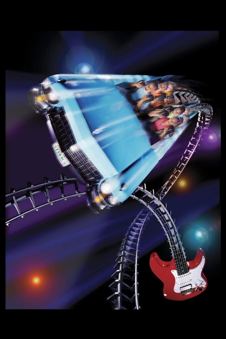 Rock'n' roller coaster Disney World