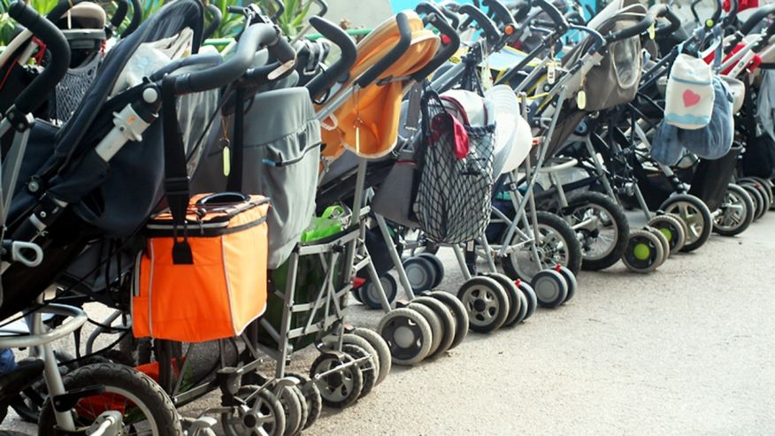 strollers at Disney