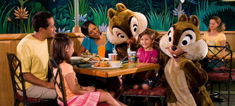 Chip Dale Garden Grill