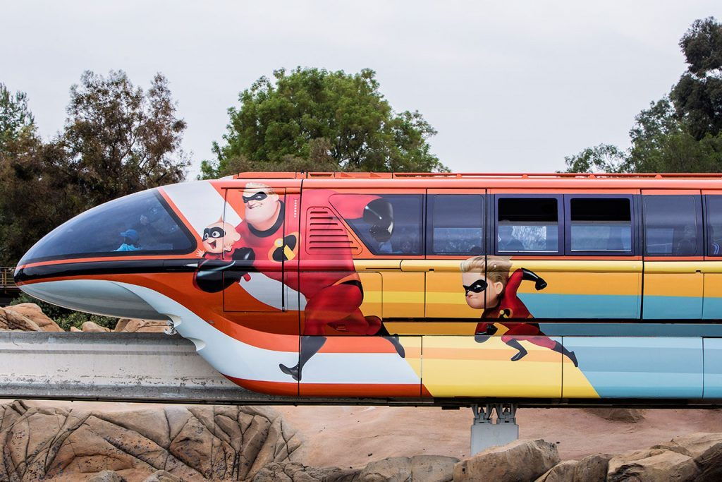 Incredibles Monorail
