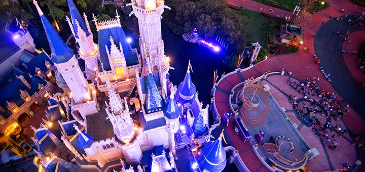 Disney from above