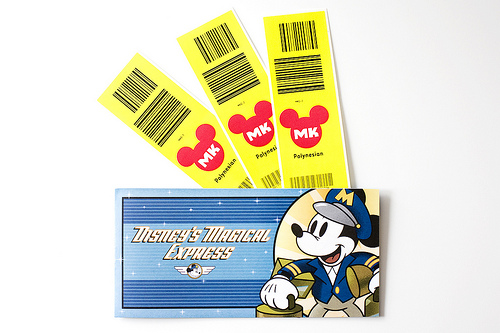 Magical Express luggage tags
