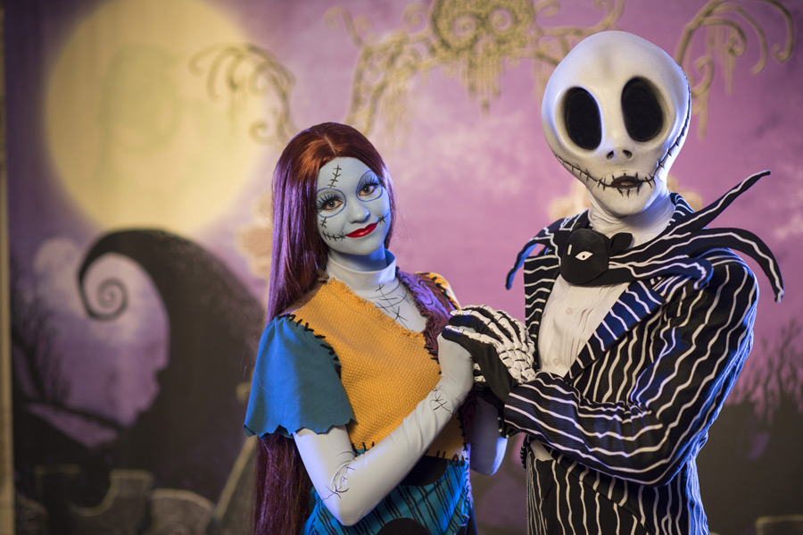 Jack and Sally Disney World
