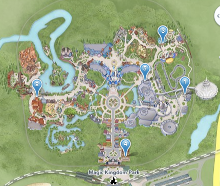 portable charger locations at Disney World