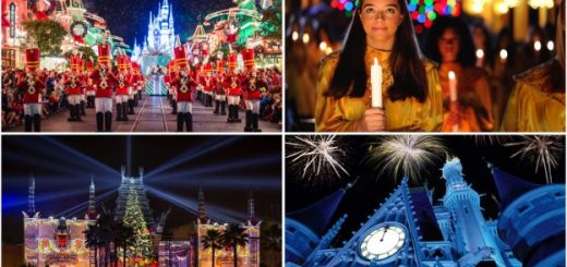 Holiday events at Walt Disney World