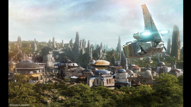 Star Wars Galaxy's Edge Video