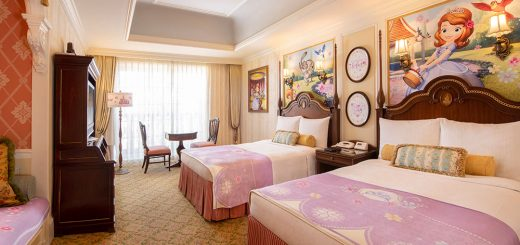 Sofia the First Themed Rooms