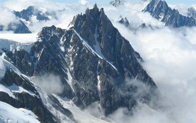 Mont blanc mountains, french alps mountain aiguille du midi. Android wallpapers for free.