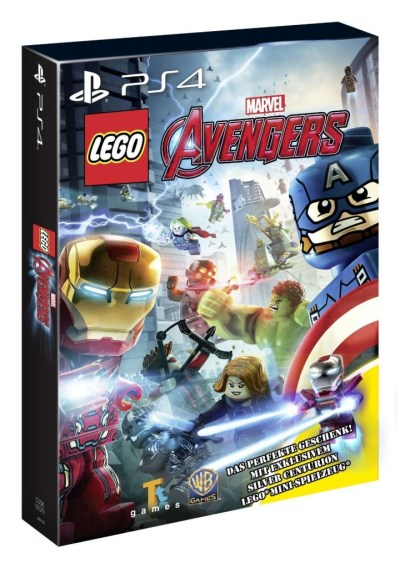 Amazon.DE free Silver Centurion with the Marvel Avengers Video Game - Minifigure Price Guide