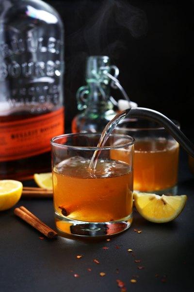 Cinnamon Bourbon Hot Toddy | Minimalist Baker Recipes
