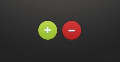 Plus Minus Buttons (PSD) on Behance