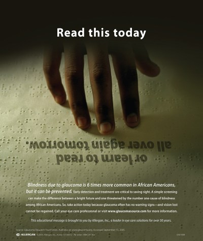 Glaucoma Awareness Consumer Ad Campaign on Behance