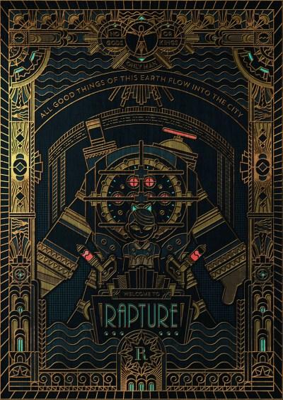 BioShock: Rapture on Behance
