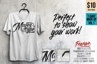 MJT Realistic T-Shirt MockUp on Behance