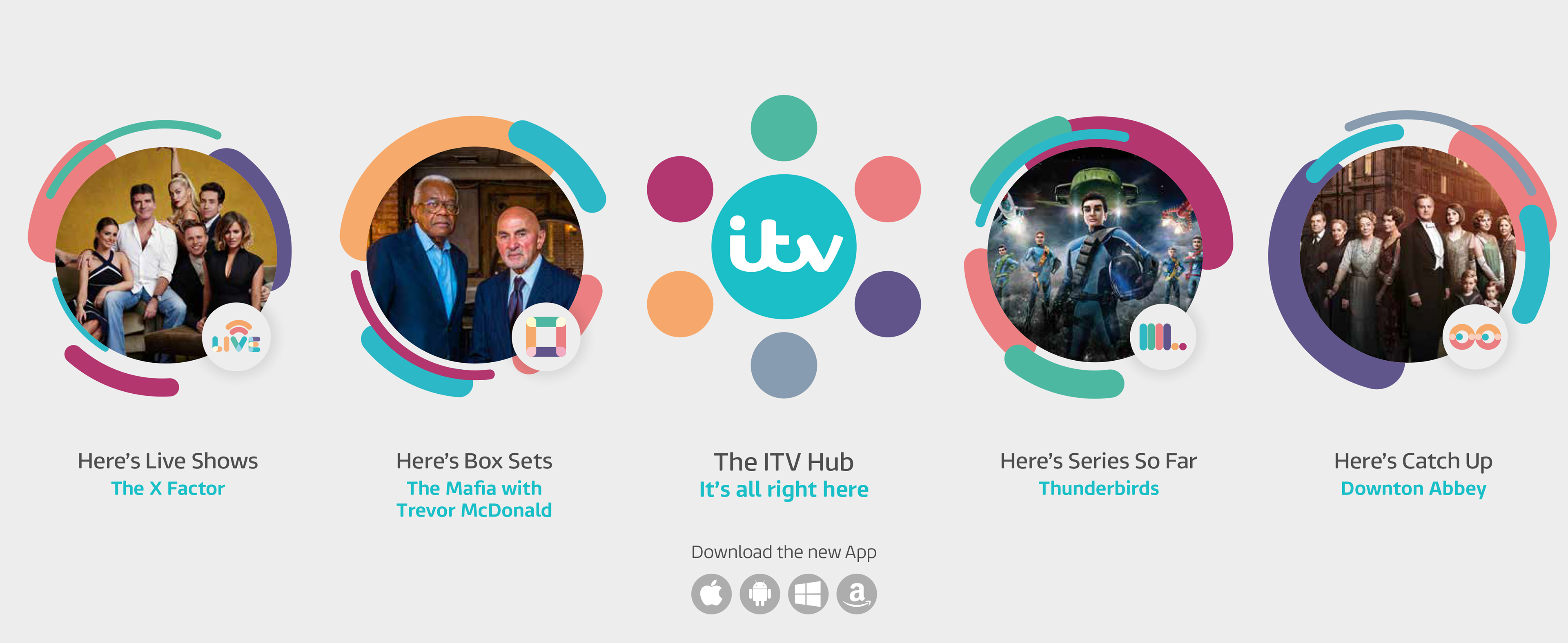 Branding  The ITV Hub on Behance
