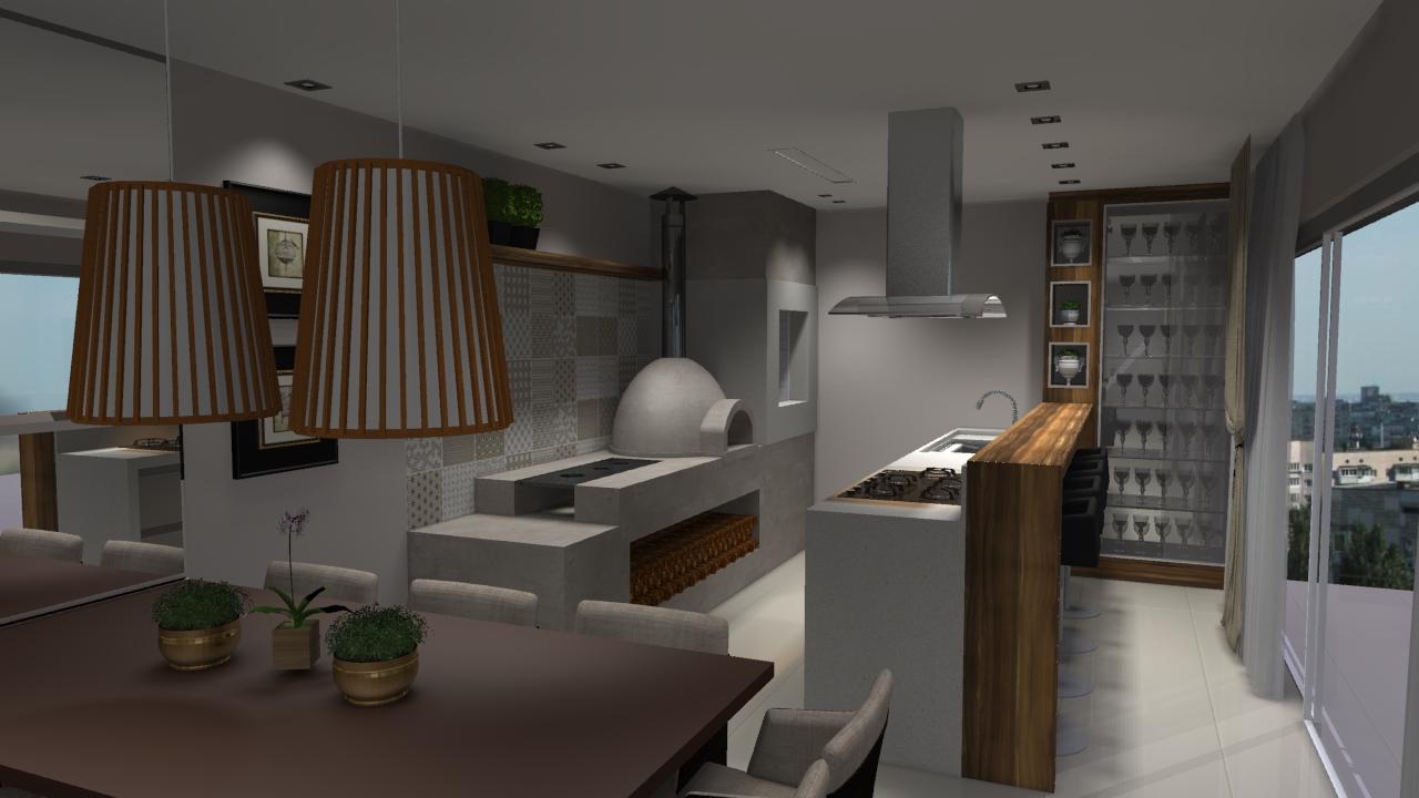 Projeto De Sala De Estar Sob Medida Sala De Estar Planejada Em  -> Sala Quadrada Planejada