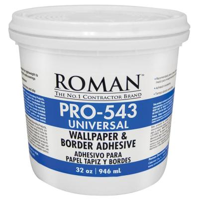Shop Roman PRO-543 32-oz Liquid Wallpaper Adhesive at Lowes.com