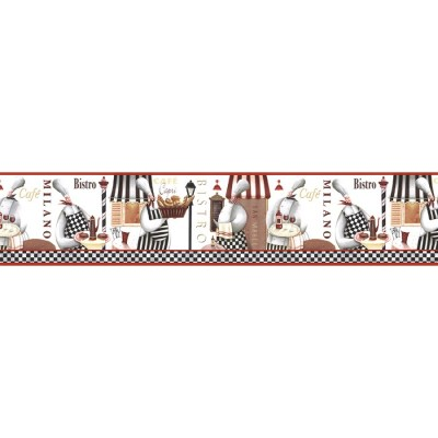 Shop Norwall 7-in Prepasted Wallpaper Border at Lowes.com